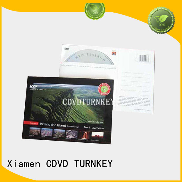 TURNKEY good price cardboard CD jackets printing directly sale for buildings