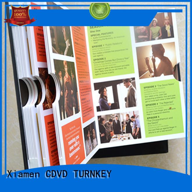 TURNKEY CD hardboard box Supply for video