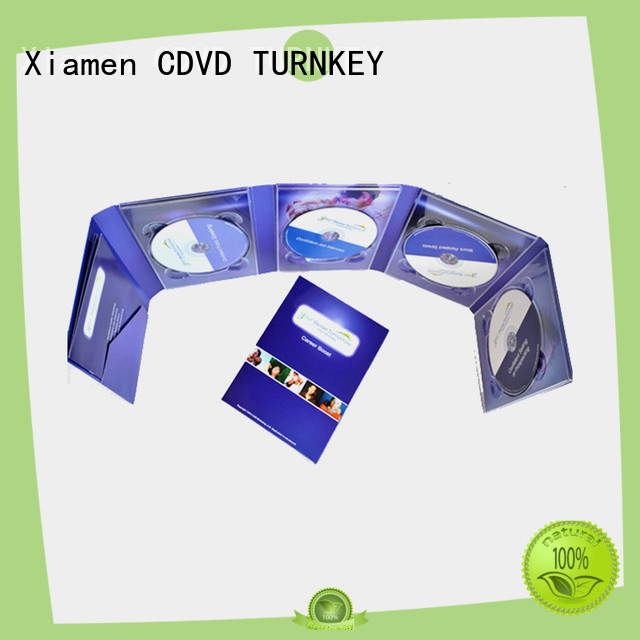 TURNKEY different size dvd digipak transfer services for shopping mall