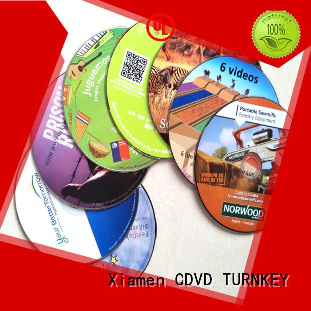 Custom cd dvd blu ray Supply for musicians