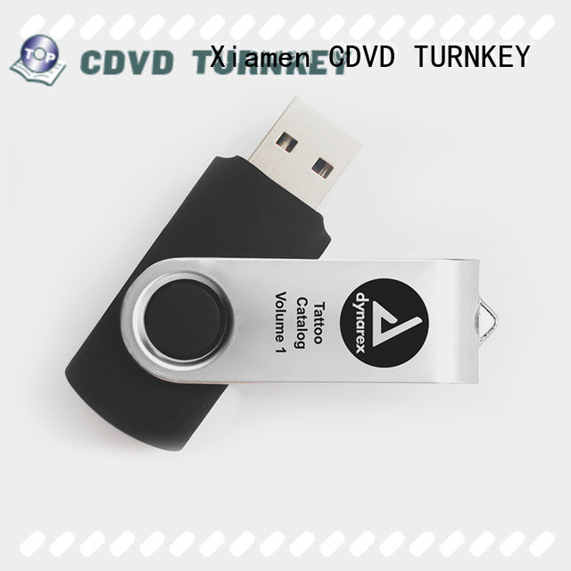 TURNKEY plastic usb disk promotion for hot and cold environments